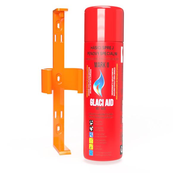 Držák celé láhve spreje GlaciAid